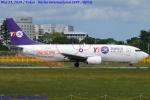 Chofu Spotter Ariaさんが、成田国際空港で撮影したYTOカーゴ・エアラインズ 737-36Q(SF)の航空フォト(飛行機 写真・画像)