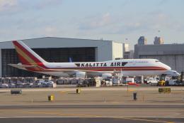 AkilaYさんが、ニューアーク・リバティー国際空港で撮影したカリッタ エア 747-446(BCF)の航空フォト(飛行機 写真・画像)