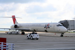 shibu03さんが、静岡空港で撮影した日本航空 MD-90-30の航空フォト(飛行機 写真・画像)