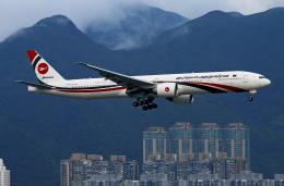 Asamaさんが、香港国際空港で撮影したビーマン・バングラデシュ航空 777-3E9/ERの航空フォト(飛行機 写真・画像)