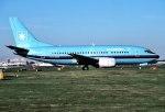 パール大山さんが、ロンドン・ガトウィック空港で撮影したマースク航空 737-5L9の航空フォト(飛行機 写真・画像)