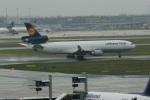 ガペ兄さんが、フランクフルト国際空港で撮影したルフトハンザ・カーゴ MD-11Fの航空フォト(飛行機 写真・画像)