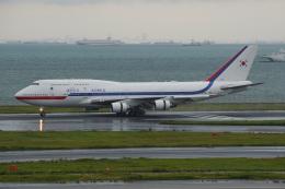 このはさんが、羽田空港で撮影した大韓民国空軍 747-4B5の航空フォト(飛行機 写真・画像)