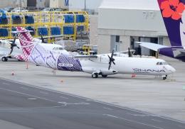 ITM58さんが、ダニエル・K・イノウエ国際空港で撮影したオハナ・バイ・ハワイアン ATR-72-201Fの航空フォト(飛行機 写真・画像)