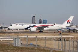 OS52さんが、成田国際空港で撮影したマレーシア航空 A350-941の航空フォト(飛行機 写真・画像)
