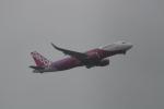 武田菱さんが、成田国際空港で撮影したピーチ A320-214の航空フォト(飛行機 写真・画像)
