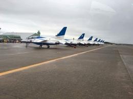 雪兎さんが、小松空港で撮影した航空自衛隊 T-4の航空フォト(飛行機 写真・画像)
