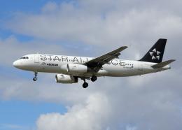 tuckerさんが、ロンドン・ヒースロー空港で撮影したエーゲ航空 A320-232の航空フォト(飛行機 写真・画像)