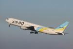 KAZFLYERさんが、羽田空港で撮影したAIR DO 767-33A/ERの航空フォト(飛行機 写真・画像)