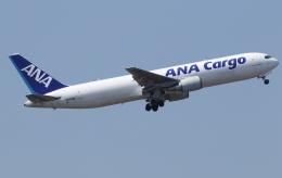 ☆ゆっきー☆さんが、成田国際空港で撮影した全日空 767-381/ER(BCF)の航空フォト(飛行機 写真・画像)