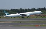 ☆ゆっきー☆さんが、成田国際空港で撮影したキャセイパシフィック航空 777-367の航空フォト(飛行機 写真・画像)
