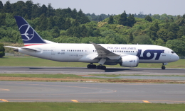 ☆ゆっきー☆さんが、成田国際空港で撮影したLOTポーランド航空 787-8 Dreamlinerの航空フォト(飛行機 写真・画像)