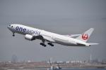 turenoアカクロさんが、羽田空港で撮影した日本航空 777-246の航空フォト(飛行機 写真・画像)