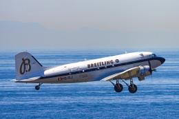 rokko2000さんが、神戸空港で撮影したスーパーコンステレーション飛行協会 DC-3Aの航空フォト(飛行機 写真・画像)