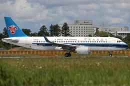 ぽんさんが、成田国際空港で撮影した中国南方航空 A320-214の航空フォト(飛行機 写真・画像)