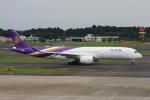wunalaさんが、成田国際空港で撮影したタイ国際航空 A350-941の航空フォト(飛行機 写真・画像)