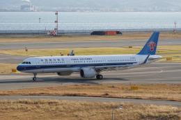 神宮寺ももさんが、関西国際空港で撮影した中国南方航空 A321-253Nの航空フォト(飛行機 写真・画像)