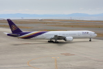 wunalaさんが、中部国際空港で撮影したタイ国際航空 777-3D7の航空フォト(飛行機 写真・画像)