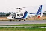 よんまるさんが、米子空港で撮影したオールニッポンヘリコプター AS365N2 Dauphin 2の航空フォト(飛行機 写真・画像)