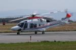 よんまるさんが、米子空港で撮影した朝日新聞社 AW169の航空フォト(飛行機 写真・画像)