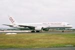 よんまるさんが、米子空港で撮影したオムニエアインターナショナル 757-2Q8の航空フォト(飛行機 写真・画像)