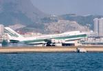 JA8037さんが、啓徳空港で撮影したエバーグリーン航空 747-121(SF)の航空フォト(飛行機 写真・画像)