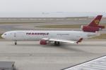 Hariboさんが、中部国際空港で撮影したトランスマイル・エア・サービス MD-11Fの航空フォト(飛行機 写真・画像)