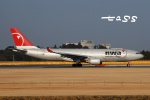 tassさんが、成田国際空港で撮影したノースウエスト航空 A330-223の航空フォト(飛行機 写真・画像)