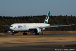 kina309さんが、成田国際空港で撮影したキャセイパシフィック航空 777-367/ERの航空フォト(飛行機 写真・画像)