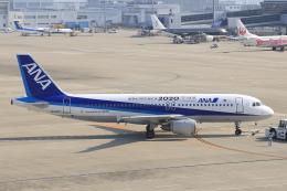 わんだーさんが、中部国際空港で撮影した全日空 A320-211の航空フォト(飛行機 写真・画像)