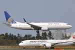 sky-spotterさんが、成田国際空港で撮影したユナイテッド航空 737-824の航空フォト(飛行機 写真・画像)