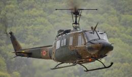 はなびさんが、善通寺駐屯地で撮影した陸上自衛隊 UH-1Jの航空フォト(飛行機 写真・画像)