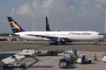 Hariboさんが、アムステルダム・スキポール国際空港で撮影したエリトリア航空 767-366/ERの航空フォト(飛行機 写真・画像)
