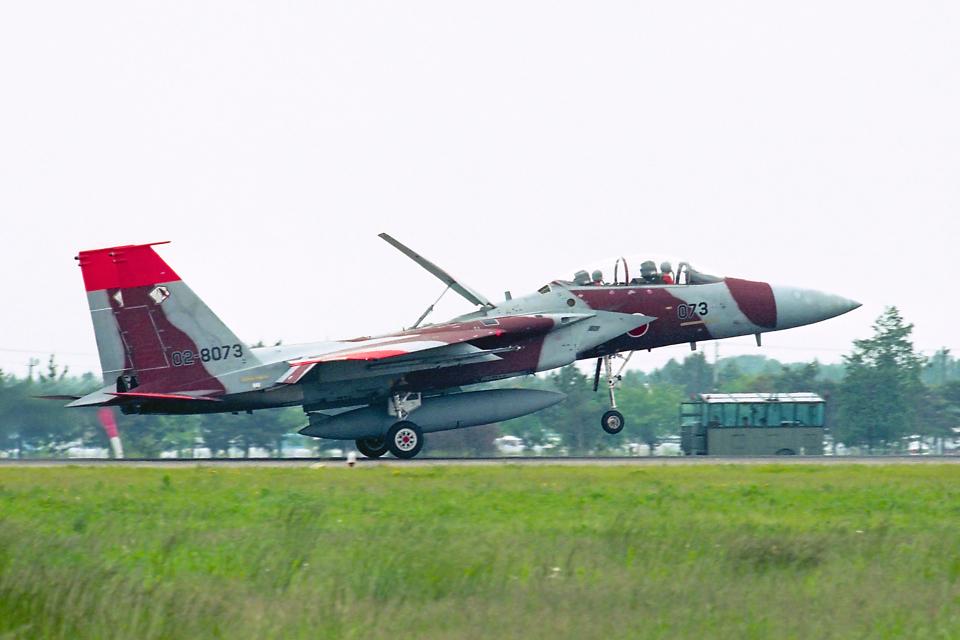 AWACSさんの航空自衛隊 Mitsubishi F-15DJ Eagle (02-8073) 航空フォト