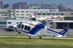 yabyanさんが、名古屋飛行場で撮影したオールニッポンヘリコプター AW139の航空フォト(飛行機 写真・画像)