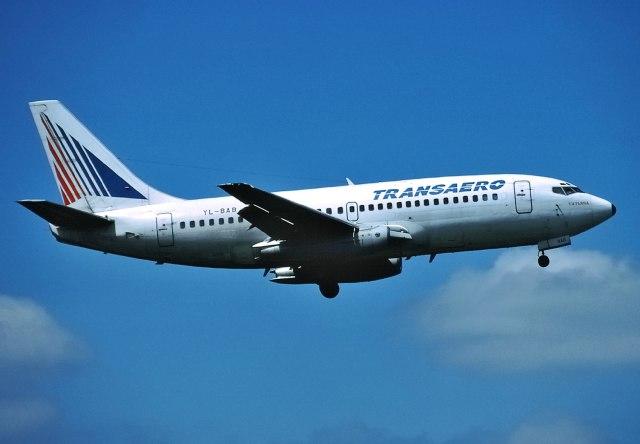 パール大山さんが、ロンドン・ガトウィック空港で撮影したトランスアエロ航空 737-236/Advの航空フォト(飛行機 写真・画像)