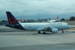 kenzy201さんが、リスボン・ウンベルト・デルガード空港で撮影したブリュッセル航空 A320-214の航空フォト(飛行機 写真・画像)
