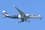 kuro2059さんが、中部国際空港で撮影したフィンエアー A350-941の航空フォト(飛行機 写真・画像)