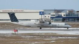 Cassiopeia737さんが、オタワ・マクドナルド・カルティエ国際空港で撮影したポーター・エアラインズ DHC-8-402Q Dash 8の航空フォト(飛行機 写真・画像)
