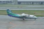 kumagorouさんが、福岡空港で撮影したオリエンタルエアブリッジ DHC-8-201Q Dash 8の航空フォト(飛行機 写真・画像)