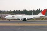 senyoさんが、成田国際空港で撮影した日本航空 747-346の航空フォト(飛行機 写真・画像)