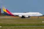 Tomo-Papaさんが、成田国際空港で撮影したアシアナ航空 747-446(BDSF)の航空フォト(飛行機 写真・画像)