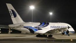 誘喜さんが、クアラルンプール国際空港で撮影したマレーシア航空 A380-841の航空フォト(飛行機 写真・画像)