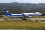 トリトンブルーSHIROさんが、庄内空港で撮影した全日空 767-381/ERの航空フォト(飛行機 写真・画像)
