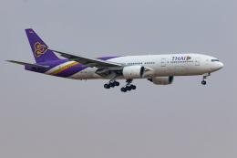 01yy07さんが、スワンナプーム国際空港で撮影したタイ国際航空 777-2D7の航空フォト(飛行機 写真・画像)