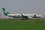 かつけんさんが、福岡空港で撮影したエバー航空 A330-302Xの航空フォト(飛行機 写真・画像)