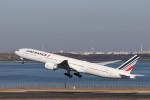 KAZFLYERさんが、羽田空港で撮影したエールフランス航空 777-328/ERの航空フォト(飛行機 写真・画像)