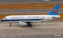 RINA-281さんが、中部国際空港で撮影した中国南方航空 A319-132の航空フォト(飛行機 写真・画像)