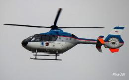 RINA-281さんが、富山空港で撮影した産経新聞社 EC135T1の航空フォト(飛行機 写真・画像)