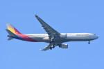 kuro2059さんが、中部国際空港で撮影したアシアナ航空 A330-323Xの航空フォト(飛行機 写真・画像)